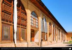 Islamic Architechture - an internal view of Arg-é Karim Khan (ciity of Karim Jan Zand), Shiraz Central Museum - 20