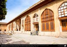 Исламская архитектура - Внутренний фасад крепости Керим-хана Зенда , во время династии Зендов - Шираз - Построена в 1766 и 1767 гг. - 21