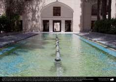 Architecture islamique, une vue du jardin Fine, Kashan, République islamique,Iran - 240