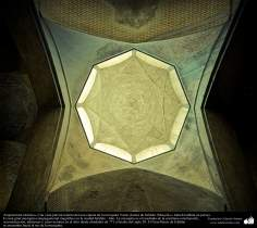 Islamic Architecture - An internal partial view of one of the Dome of Jame's mosque in Isfahan - Iran - 50
