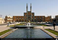 Arquitectura islámica – Plaza Amir Chajmagh en la ciudad Yazd - 225