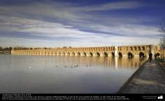 Islamic Arquitecture - (bridge of the 33 arches) in Isfahan - 7