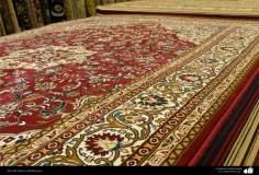 هنر اسلامی - صنایع دستی - هنر نساجی قالی -  قالیچه فارسی - کرمان ، ایران