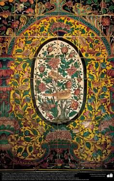 Islamic Art - enamel and mosaic (Kashi Kari) on ceilings, domes, minarets, mosques and islamic buildings - 46