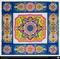 Arte islámico – Azulejos y mosaicos islámicos (Kashi Kari) - 45