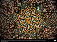 Arte islámico – Azulejos y mosaicos islámicos (Kashi Kari) realizados en paredes, techos, cúpulas, minaretes de las mezquitas - 22