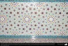 Islamische Kunst – Politur und Islamische Mosaiken (Kashi Kari) gemacht auf den Decken, Domen und Minaretten von Moscheen  - 11 - Architektur
