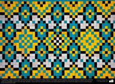 Arte islámico – Azulejos y mosaicos islámicos (Kashi Kari) realizados en paredes, techos, cúpulas, minaretes de las mezquitas - 14