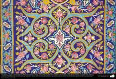 Исламская архитектура - Вид кафелев, употребленных на стенах , потолках , куполе и минарете для украшения мечетей и зданий исламского мира - 89