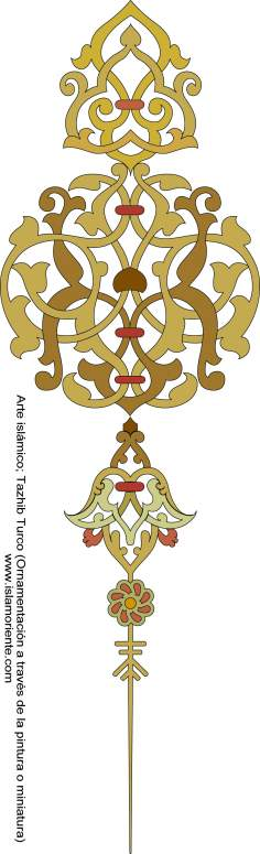 Islamic Art - Turkish Tazhib (ornamentation through painting or miniature)