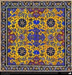 Arte islámico – Azulejos y mosaicos islámicos (Kashi Kari) - 53
