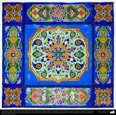 Islamic Art – Islamic Enamel and mosaics(Kashi Kari) on walls, ceilings and minarets, as well on islamic buildings- 34