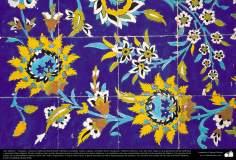Arte islámico – Azulejos y mosaicos islámicos (Kashi Kari) realizados en paredes, techos, cúpulas, minaretes de las mezquitas - 16