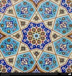 Arte islámico – Azulejos y mosaicos islámicos (Kashi Kari) - 91