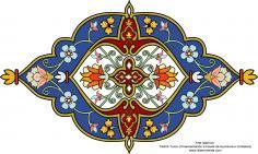 Arte islámico –Tazhib Turco (Ornamentación a través de la pintura o miniatura)