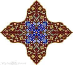 Art islamique - Tazhib turque - Style Toranj 1