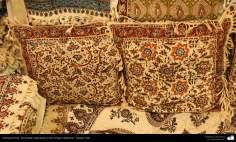 イスラム美術(手工芸品 、布に伝統的なスタンプをする業(Chape Qalamkar) -17