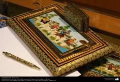 Исламское искусство - Ремесло - Хатам Кари (Инкрустация) - Моарраг Кари - Декоративные вещи - 56