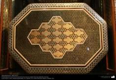 Arte islamica-Artigianato-Khatam Kari-Gli oggetti ornamentali d'intarsio-Isfahan(Iran)-7