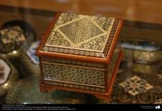 Arte islamica-Artigianato-Khatam Kari-Gli oggetti ornamentali d'intarsio-Isfahan(Iran)-82