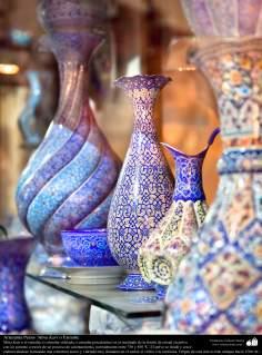 Islamische Kunst - Politur und Mosaik (Kashi Kari) - 10 - Kunsthandwerk - Politur (Mina Kari)