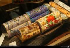Исламское искусство - Ремесло - Роспись на верблюжьей кости - 10