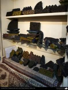 Artesanía Persa- Estampado tradicional en tela (Chape Qalamkar) - 7