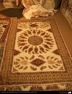 Persian Handicrafts - Traditional stamped on cloth (Chape Qalamkar) - 3