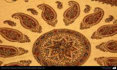 Persian Handicraft - Traditional Stamped on cloth (Chape Qalamkar) - 15