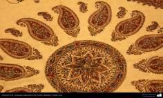 Artesanía Persa- Estampado tradicional en tela (Chape Qalamkar) - 16