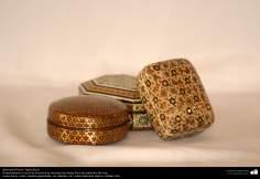 Artesanía Persa- Jatam Kari (Marquetería y Ornamentación de objetos) - 44