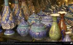الفن الإسلامي - الحرف اليدوية الإسلامية - عمل فني المينا - اجسام المزخرفة - 42