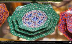 Persian handicraft - Mina kari or enamel -  44