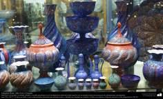 الفن الإسلامي - الحرف اليدوية الإسلامية - عمل فني المينا - اجسام المزخرفة - 43
