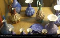 الفن الإسلامي - الحرف اليدوية الإسلامية - عمل فني المينا - اجسام المزخرفة - 33