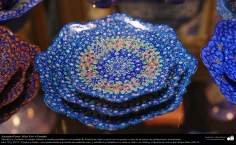 Persian Handicraft - Mina Kari or Enamel - 46
