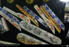 Artesanía Persa- Pintura en hueso de camello - 11
