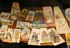 اسلامی فن - اونٹ کی ہڈی پر ہاتھ سے پینٹنگ اور فنکاری - ۷