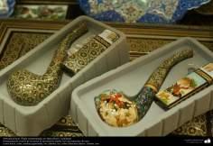 Исламское искусство - Ремесло - Хатам Кари (Инкрустация) - Декоративные вещи - Исфахан , Иран - 26