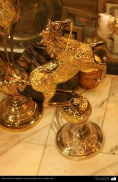 Artesanía Persa- Repujado en metal (Qalam Zani) - 31