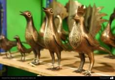 Persian Handicrafts - emobssed in metal (Qalam Zani) - 12