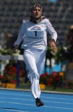 Спорт мусульманских женщин - Мусульманская арабская женщина и лёгкая атлетика