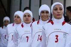 Atletas iraníes