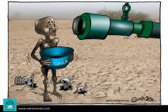 Caricatura -  Ajuda humanitária (2)
