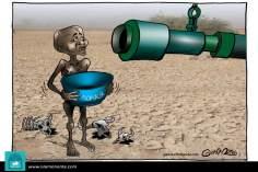 Гуманные помощи (карикатура)