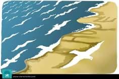 Caricatura - Bem vindo a Europa