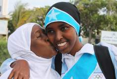 Campeona olímpica musulmana de Africa