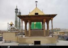 Arquitectura Islámica- Casa de las trompetas de celebración - Santuario de Fátima Masuma en la ciudad santa de Qom