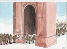 Celebran la guerra fracasó (Caricatura)