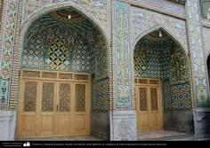 Cerámica y arquitectura Islámica- laterales del sahn del Imam Rida (P), en el santuario de Fátima Masuma en la ciudad santa de Qom - 4